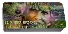 When Somebody Loves You - 3 Portable Battery Charger