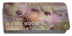 When Somebody Loves You-2 Portable Battery Charger
