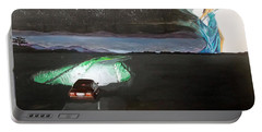 When The Night Start To Walk Listen With Music Of The Description Box Portable Battery Charger