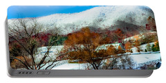 When Winter Blankets Autumn Portable Battery Charger
