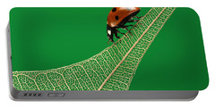 Where Have All The Green Leaves Gone? Portable Battery Charger