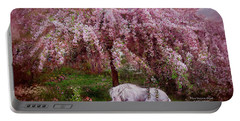 Where Unicorn's Dream Portable Battery Charger by Carol Cavalaris