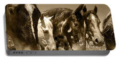Whimsical Stallions Portable Battery Charger