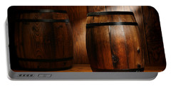 Whisky Barrel Portable Battery Charger