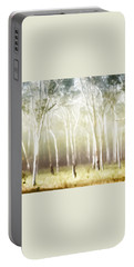 Whisper The Trees Portable Battery Charger by Holly Kempe