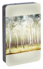 Portable Battery Charger featuring the photograph Whisper The Trees by Holly Kempe
