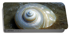 Portable Battery Charger featuring the photograph Whispering Tides by Karen Wiles