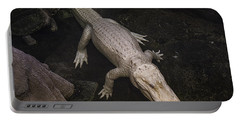 White Alligator Portable Battery Charger