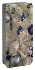 White Christmas Tree Portable Battery Charger