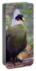 White Crested Turaco Portable Battery Charger