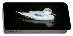 White Duck Portable Battery Charger
