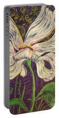 White Flower Series 6 Portable Battery Charger