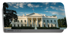 White House Sunrise Portable Battery Charger by Steve Gadomski