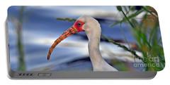 Intriguing Ibis Portable Battery Charger by Al Powell Photography USA