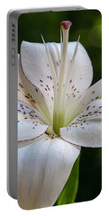 White Lily Portable Battery Charger