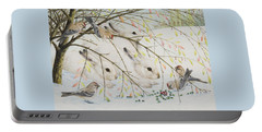 White Rabbits Portable Battery Charger