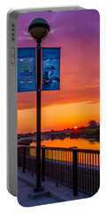 White River Sunset Portable Battery Charger