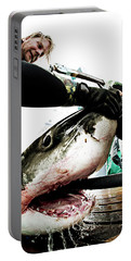 White Shark Gill Aeration Portable Battery Charger