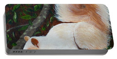 White Squirrel Of Sooke Portable Battery Charger