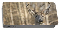White-tailed Buck Portable Battery Charger