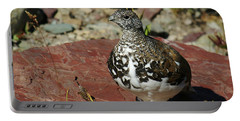 White-tailed Ptarmigan Portable Battery Charger