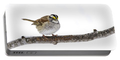 White-throated Sparrow Portable Battery Charger