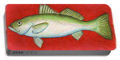 White Trout Portable Battery Charger