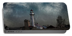 Whitefish Point Lighthouse Lake Superior Portable Battery Charger