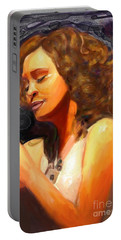 Whitney Gone Too Soon Portable Battery Charger by Vannetta Ferguson