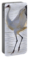 Whooping Crane - Whooping It Up Portable Battery Charger