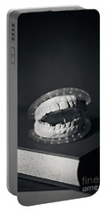 Portable Battery Charger featuring the photograph Whose Teeth Are These? by Trish Mistric