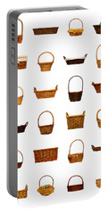 Wicker Basket Collection Portable Battery Charger