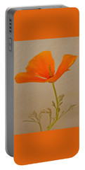 Wild California Poppy No 1 Portable Battery Charger