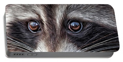 Wild Eyes - Raccoon Portable Battery Charger