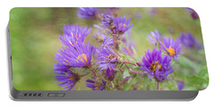 Wild Flowers In The Fall Portable Battery Charger