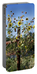 Portable Battery Charger featuring the photograph Wild Growth by Erika Weber