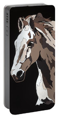 Wild Horse With Hidden Pictures Portable Battery Charger