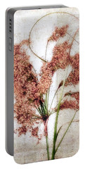Wild Indian Rice In Autumn #2 Portable Battery Charger by Louise Kumpf