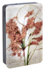 Portable Battery Charger featuring the photograph Wild Indian Rice In Autumn #2 by Louise Kumpf