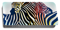 Wild Life  Portable Battery Charger by Mark Ashkenazi