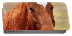 Wildfire - Equine Portrait Portable Battery Charger