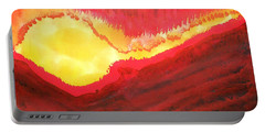 Wildfire Original Painting Portable Battery Charger