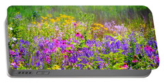 Wildflower Beauty  Portable Battery Charger