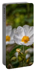 Wildflower Poppin Portable Battery Charger