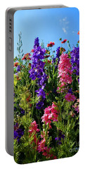 Wildflowers #14 Portable Battery Charger