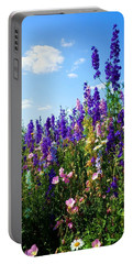 Wildflowers #9 Portable Battery Charger