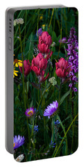 Wildflowers A Bloomin Portable Battery Charger