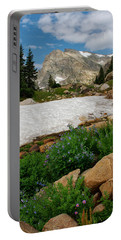 Wildflowers In The Indian Peaks Wilderness Portable Battery Charger