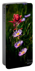 Portable Battery Charger featuring the photograph Wildflowers by Steven Reed