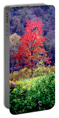 Wildwood Flowers Portable Battery Charger